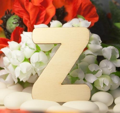 Alfabeto Classico Z