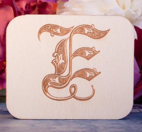 Alfabeto Royal E
