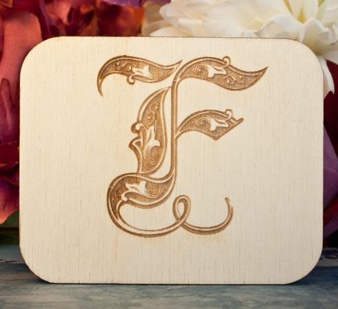 Alfabeto Royal F