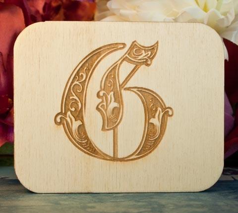 Alfabeto Royal G