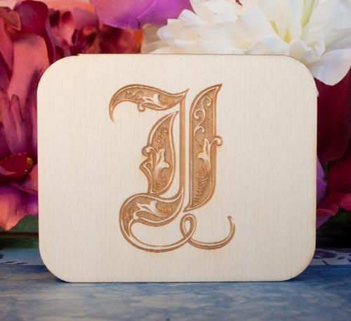 Alfabeto Royal J