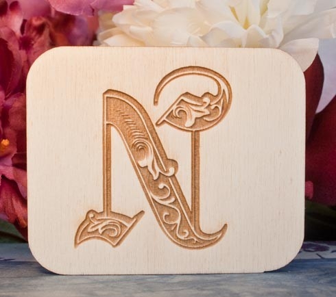 Alfabeto Royal N