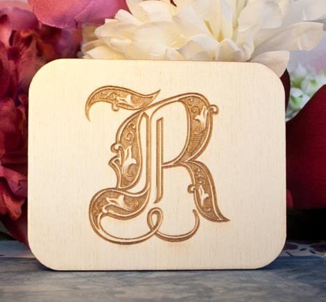Alfabeto Royal R