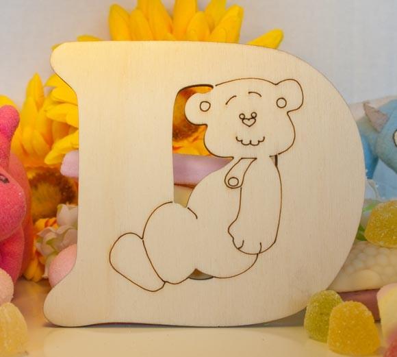Alfabeto Teddy Bear  - D