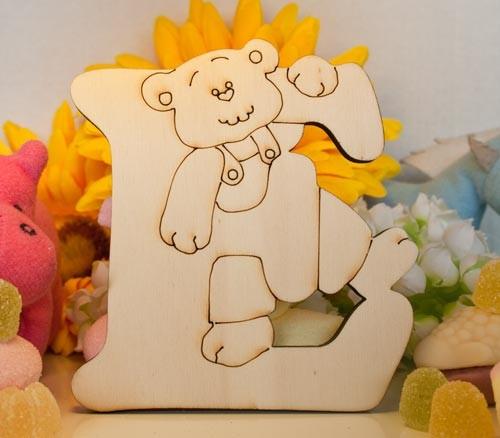 Alfabeto Teddy Bear  - E