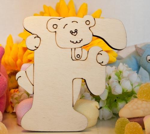 Alfabeto Teddy Bear  - F
