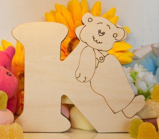 Alfabeto Teddy Bear  - k