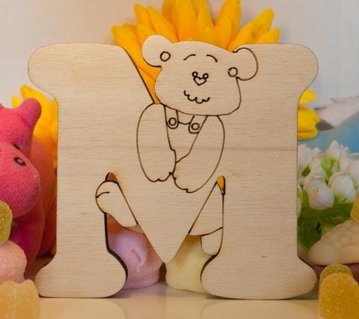 Alfabeto Teddy Bear  - M