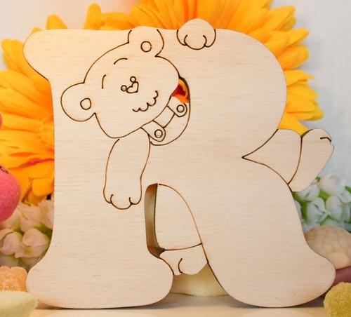 Alfabeto Teddy Bear  - R