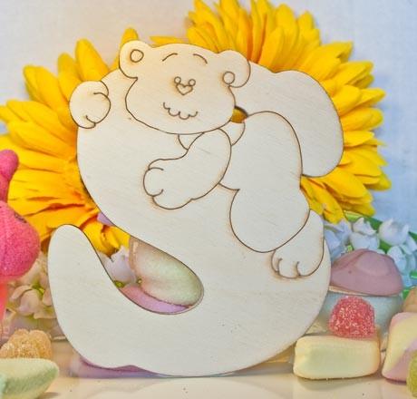 Alfabeto Teddy Bear  - S