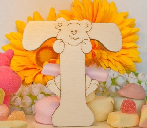 Alfabeto Teddy Bear  - T