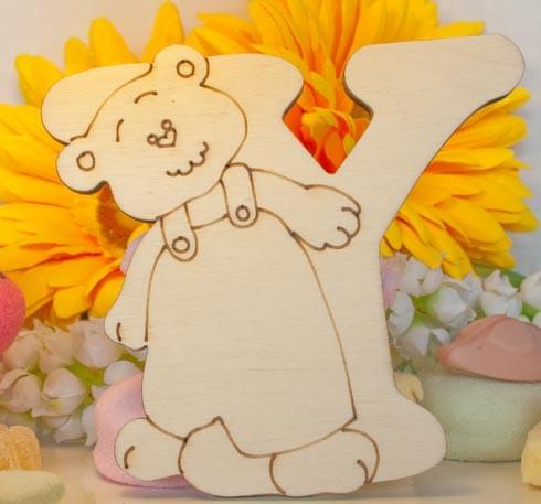 Alfabeto Teddy Bear  - Y