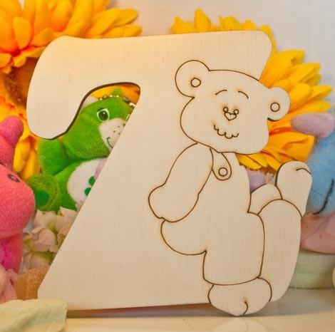 Alfabeto Teddy Bear  - Z