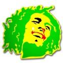 BOB MARLEY verde giallo