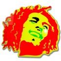 BOB MARLEY rosso giallo
