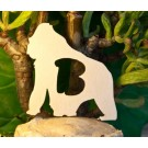 Alfabeto Gorilla - lettera B