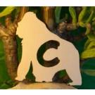 Alfabeto Gorilla - lettera C