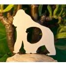 Alfabeto Gorilla  - Lettera D