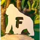 Alfabeto Gorilla - Lettera F
