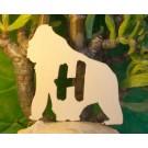 Alfabeto Gorilla - lettera H