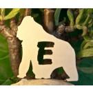 Alfabeto Gorilla -  Lettera E