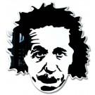 Albert Einstein ritratto tridimensionale